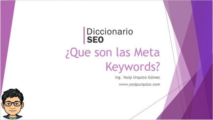 Que son las Meta Keywords