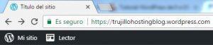 ejemplo de dominio en wordpress.com
