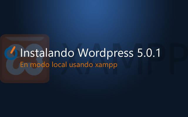Wordpress + Xampp