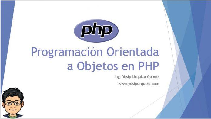 Programación Orientado a Objetos en PHP