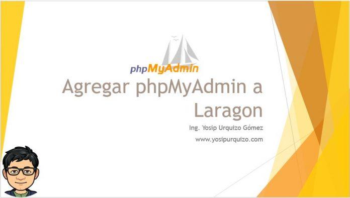 Agregar phpMyAdmin a Laragon