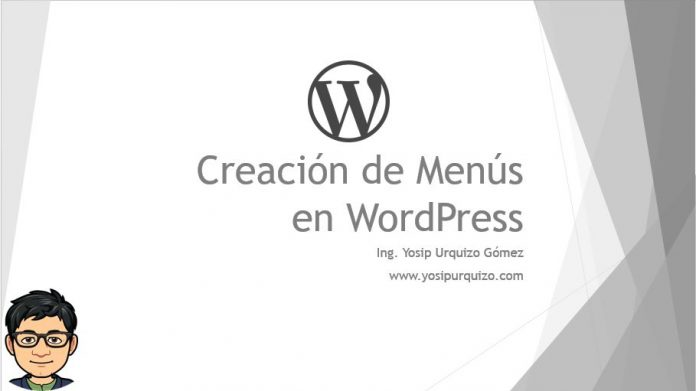 Creación de Menus en WordPress