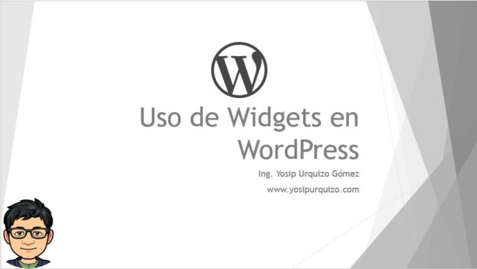 Uso de Widgets en WordPress